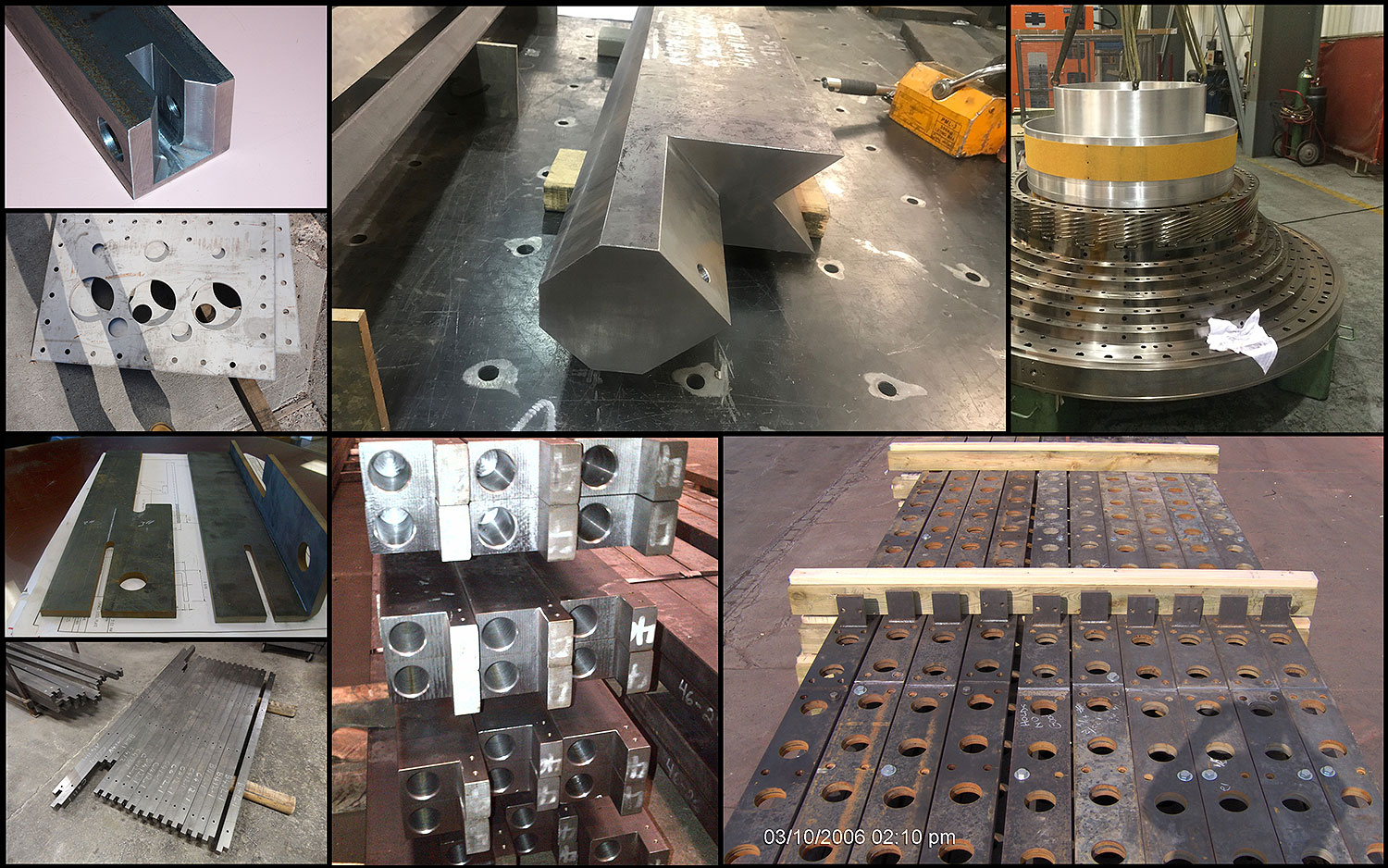 5 Machining collage