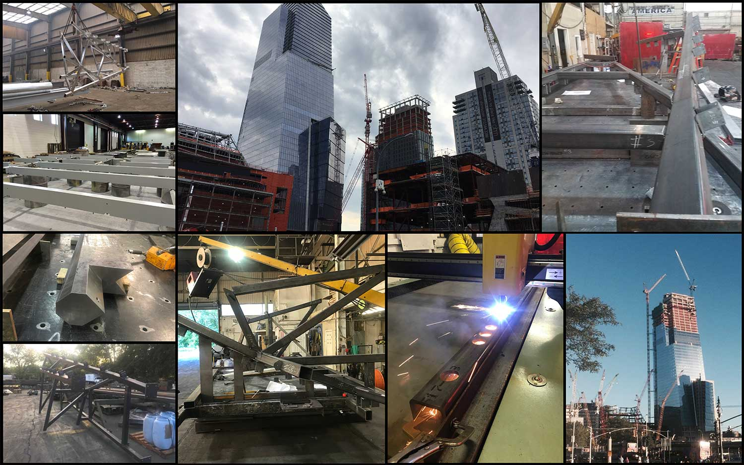 6 Hudson Yards Collage