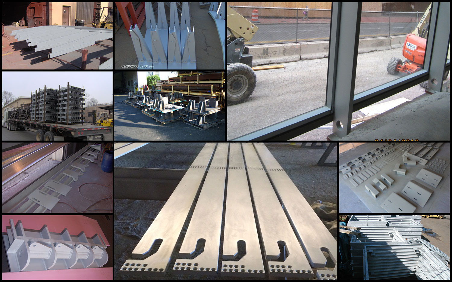 6 Curtainwall Support Steel collage